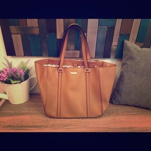 Large Kate Spade Light Brown Bag